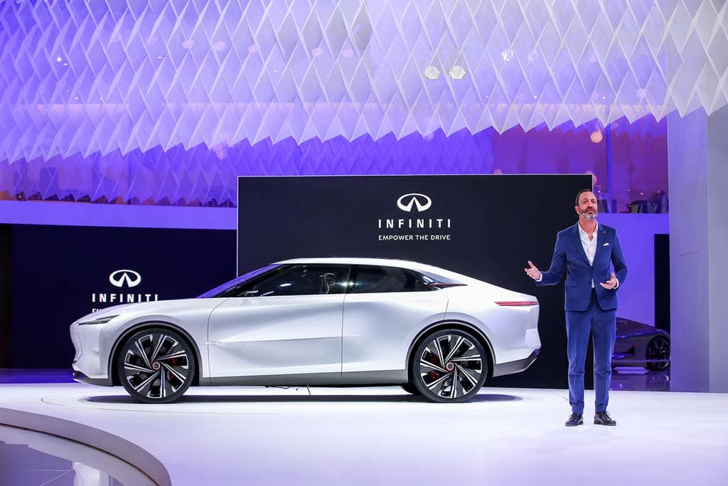 Infiniti Qs Inspiration EV Concept Charges into Auto Shanghai
