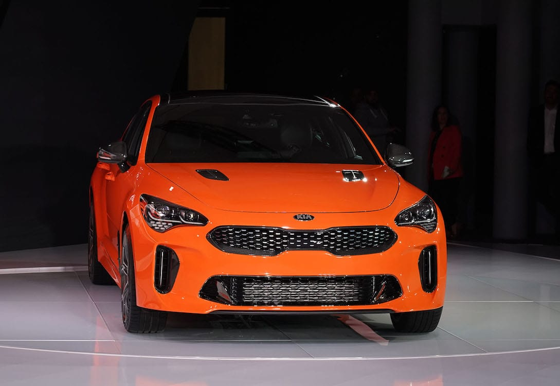 Kia Ups the Performance Quotient with Stinger GTS