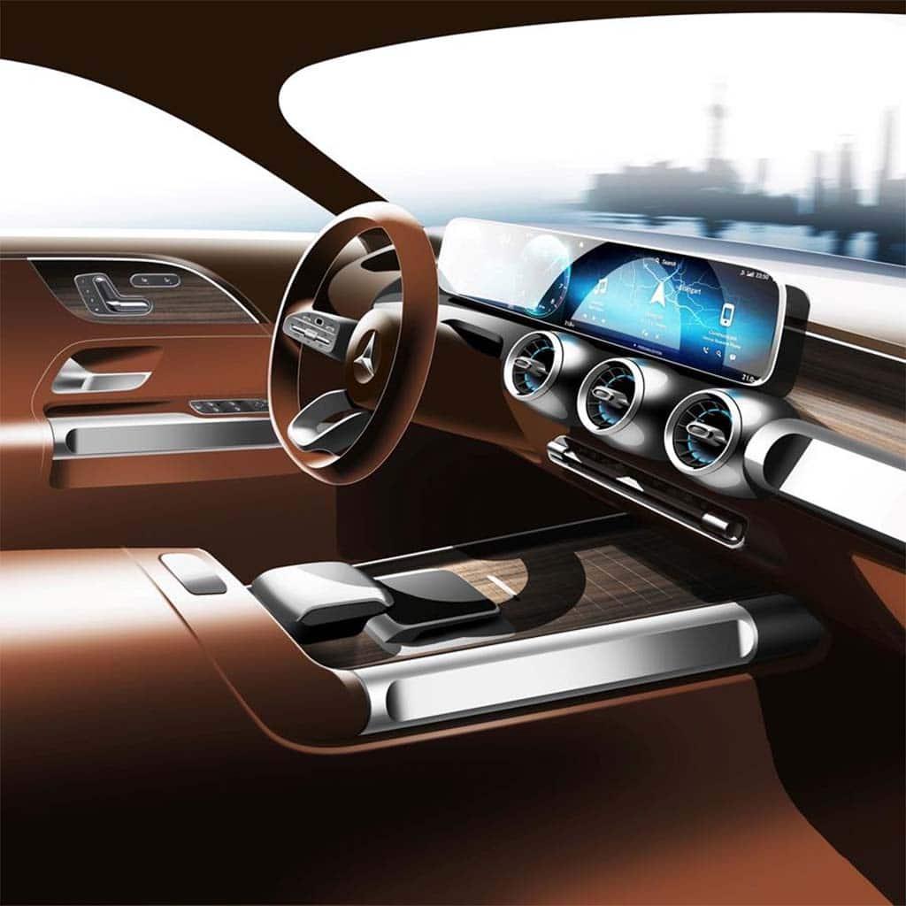 Mercedes-Benz Teases Concept GLB Ahead of Shanghai Show