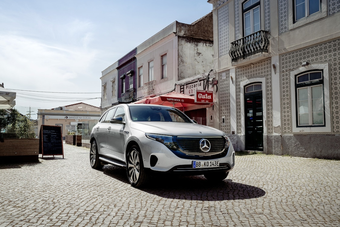 mercedes steps up mobility options with eqc edition 1886