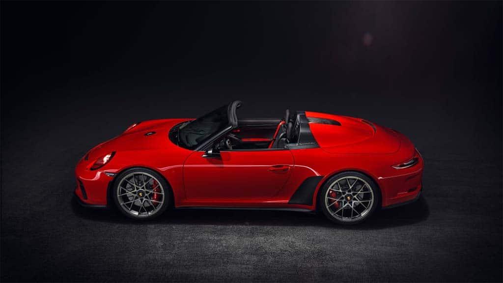 ny auto show sees return of the porsche speedster. Black Bedroom Furniture Sets. Home Design Ideas