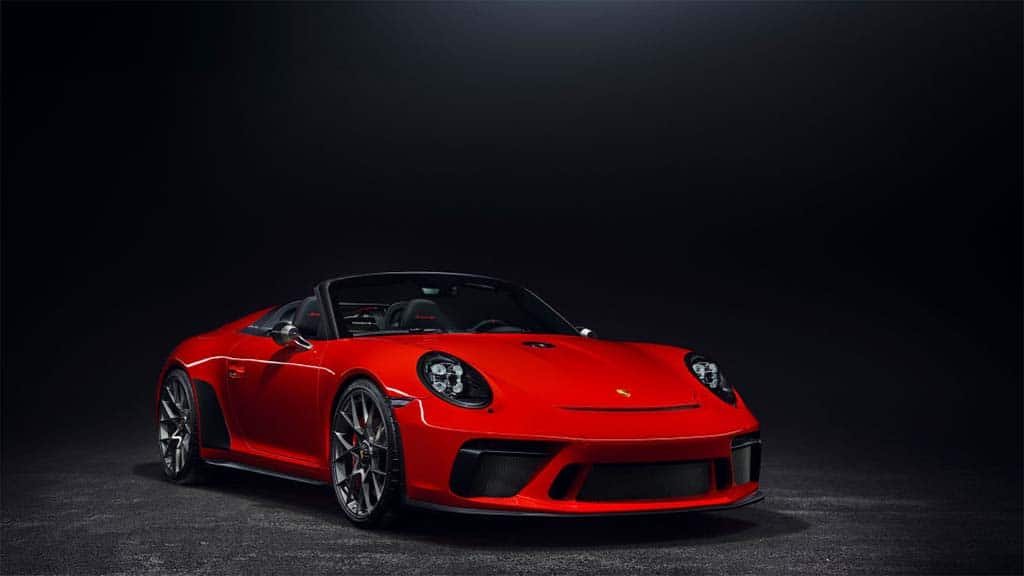 NY Auto Show Sees Return of the Porsche Speedster