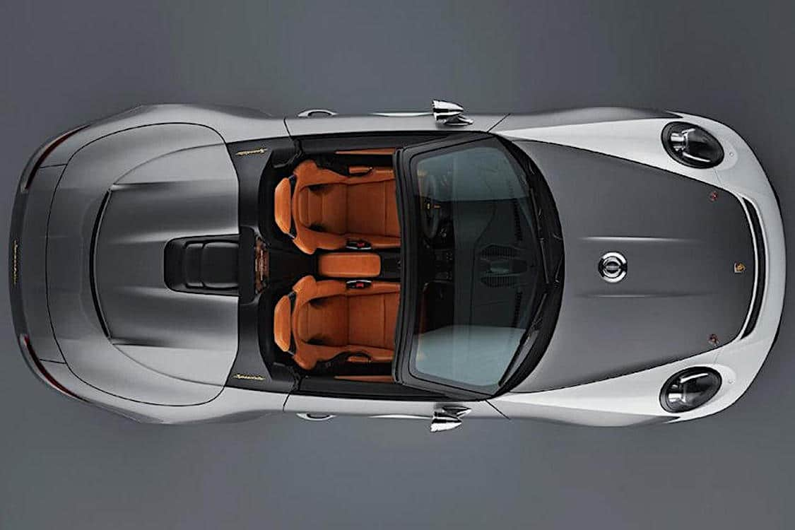 Porsche May Unveil New Speedster at NYIAS