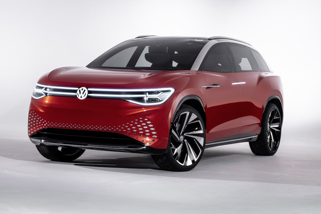 VW Expanding All-Electric ID Line-up With New Full-Size Roomzz