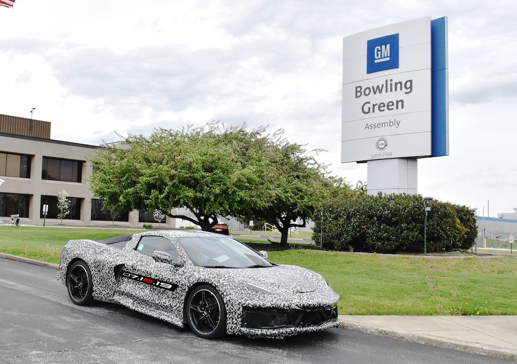 GM Adding Second Shift at Kentucky Corvette Plant