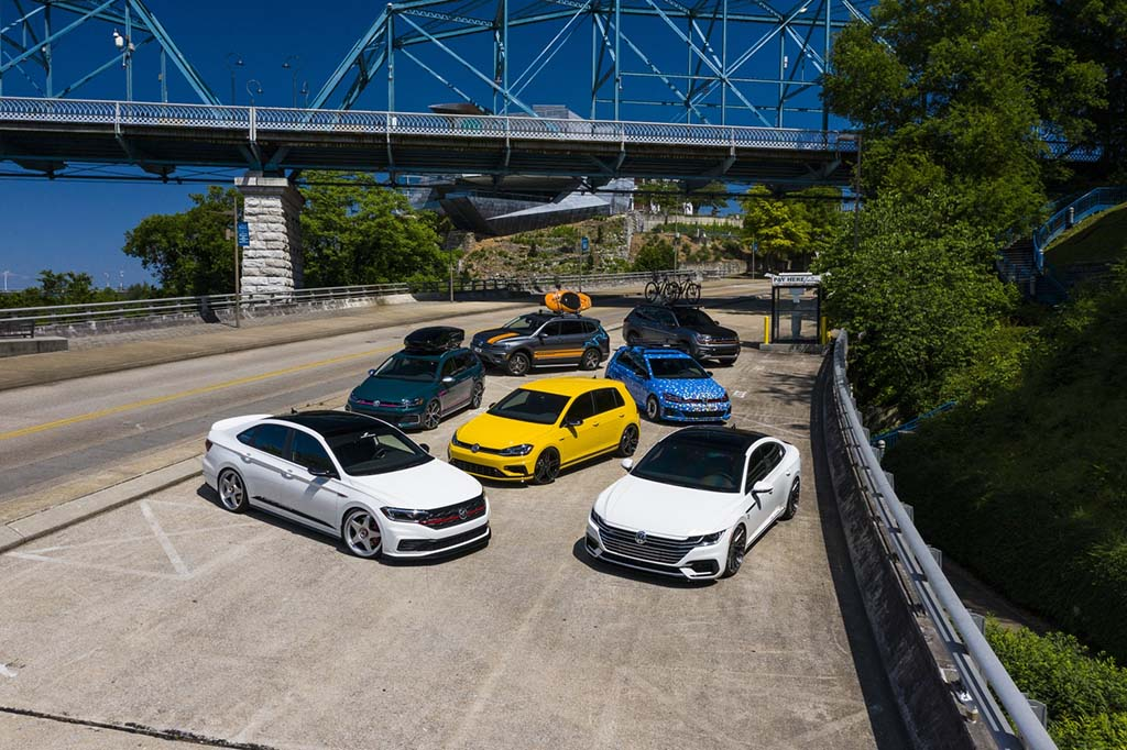VW Unleashes Seven Sport Concepts at Southern Worthersee
