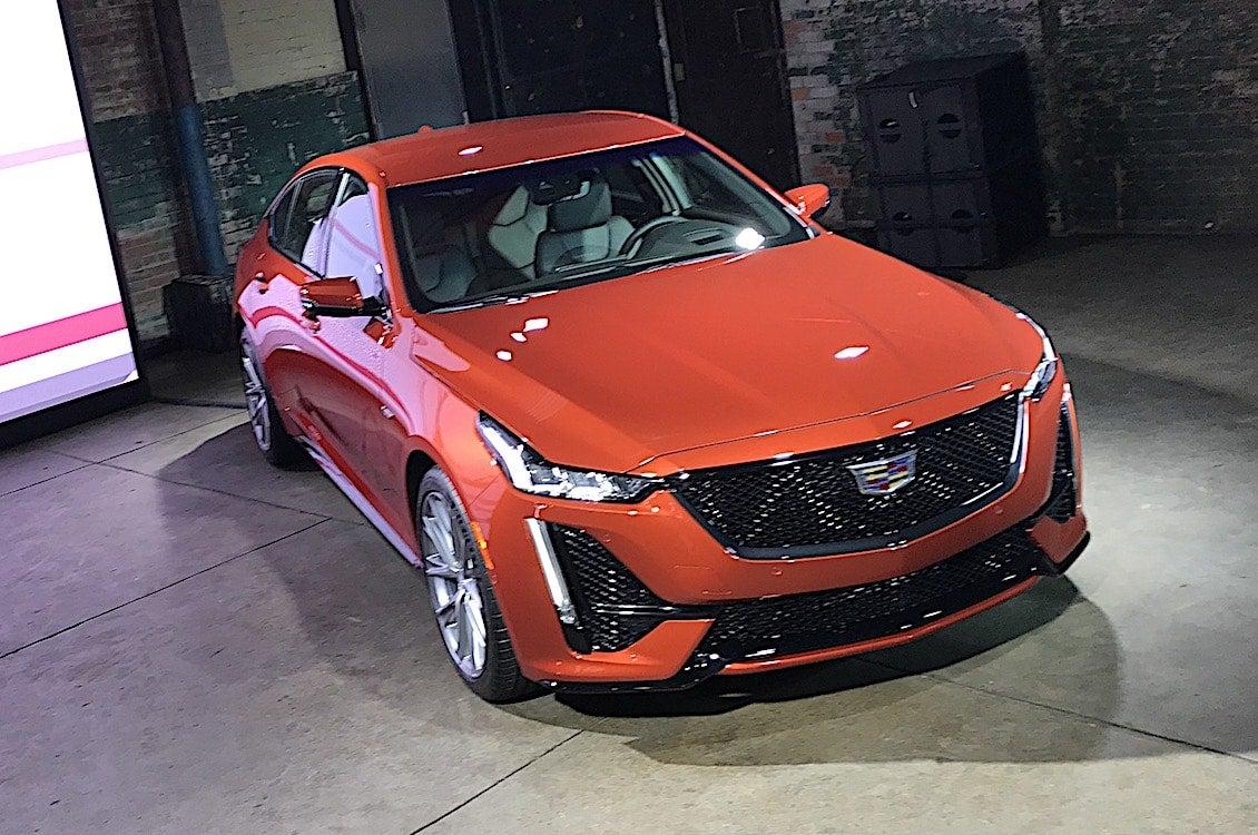 Cadillac Expands V-Series Line-Up with CT5-V, CT4-V | TheDetroitBureau.com