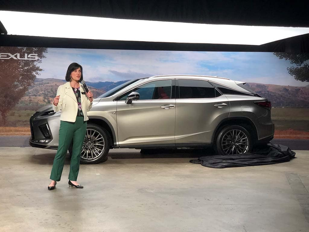 Lexus Lifts the Covers on Updates RX Line in Bid to Retain CUV Dominance