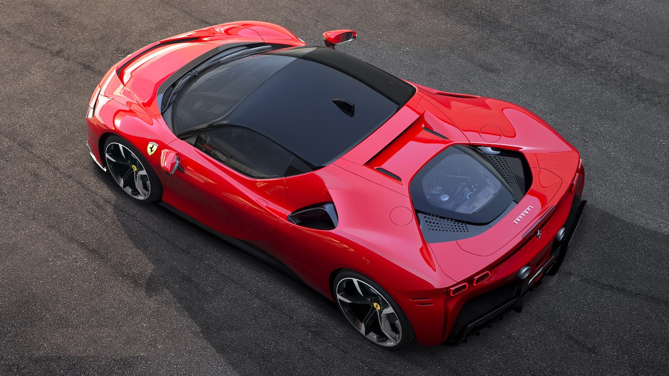 Ferrari Plugs In, Charges Out With its First Plug-In, the SF90 Stradale