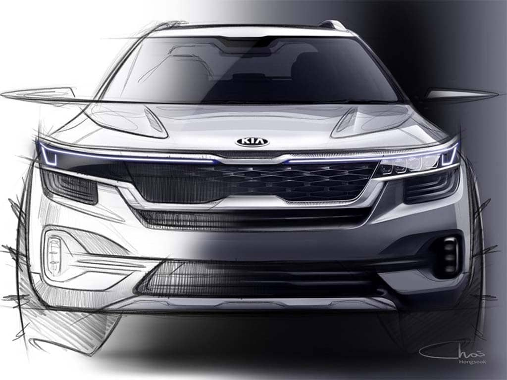 "Kia Offers First Look at New ""Global Small SUV"""