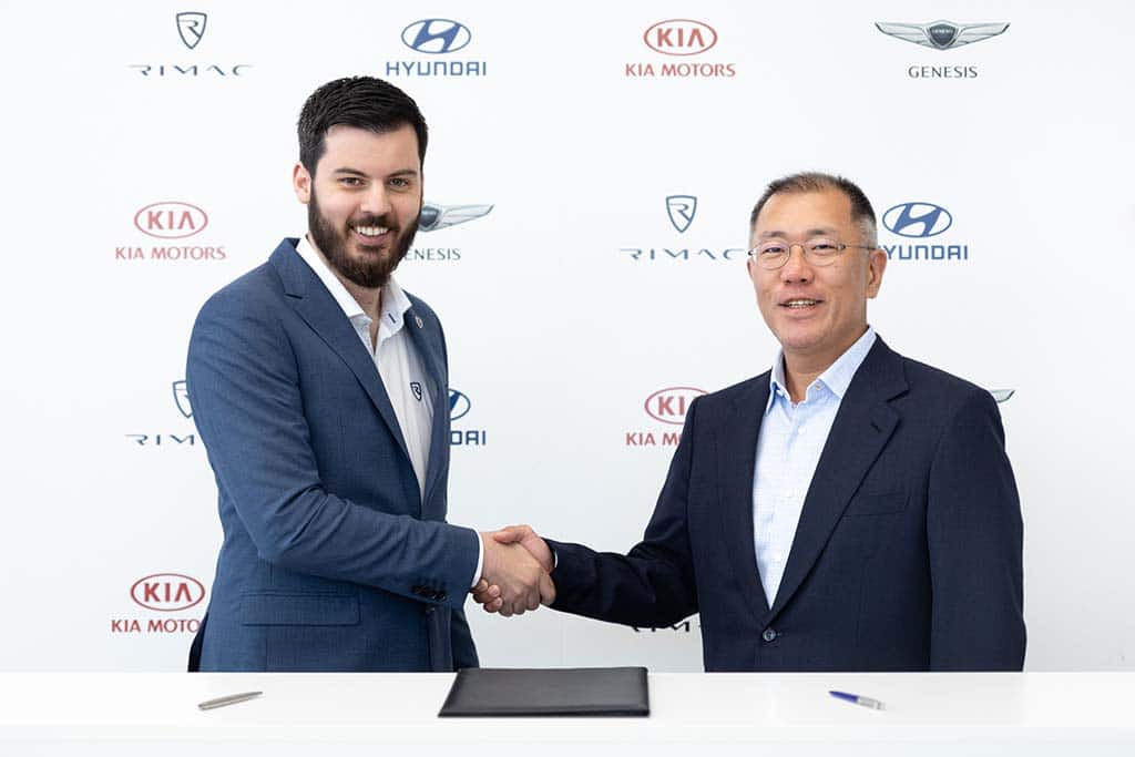Hyundai/Kia Partnering up with Croatia EV Supercar Maker Rimac