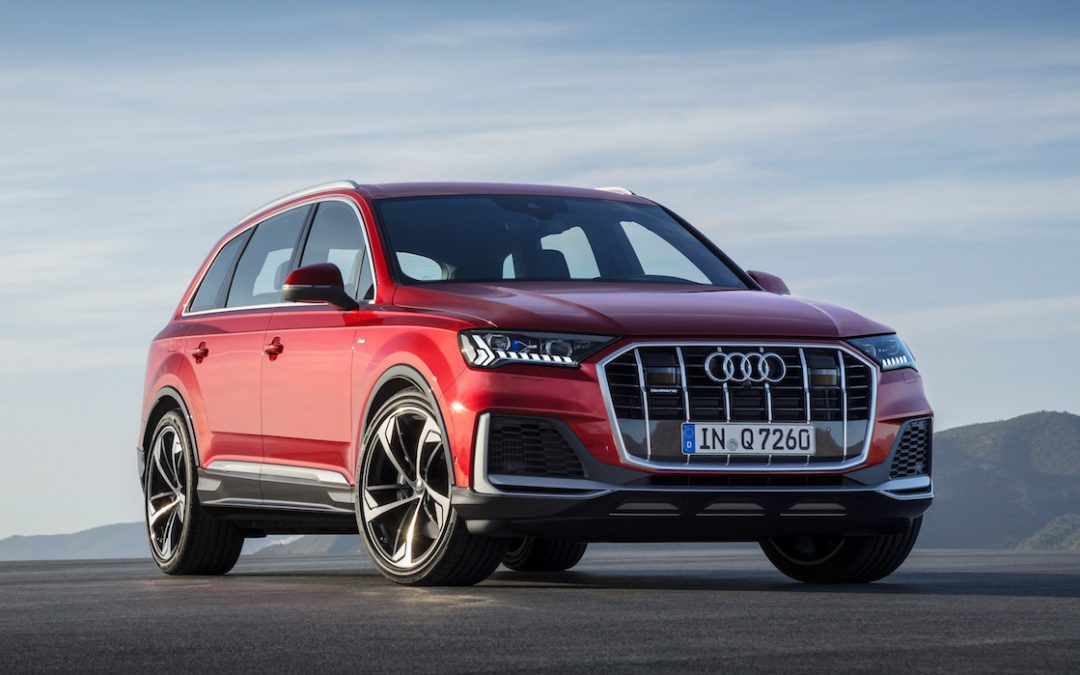 "Audi Takes Q7 SUV to the ""Next Level"" for 2020 Model Year"