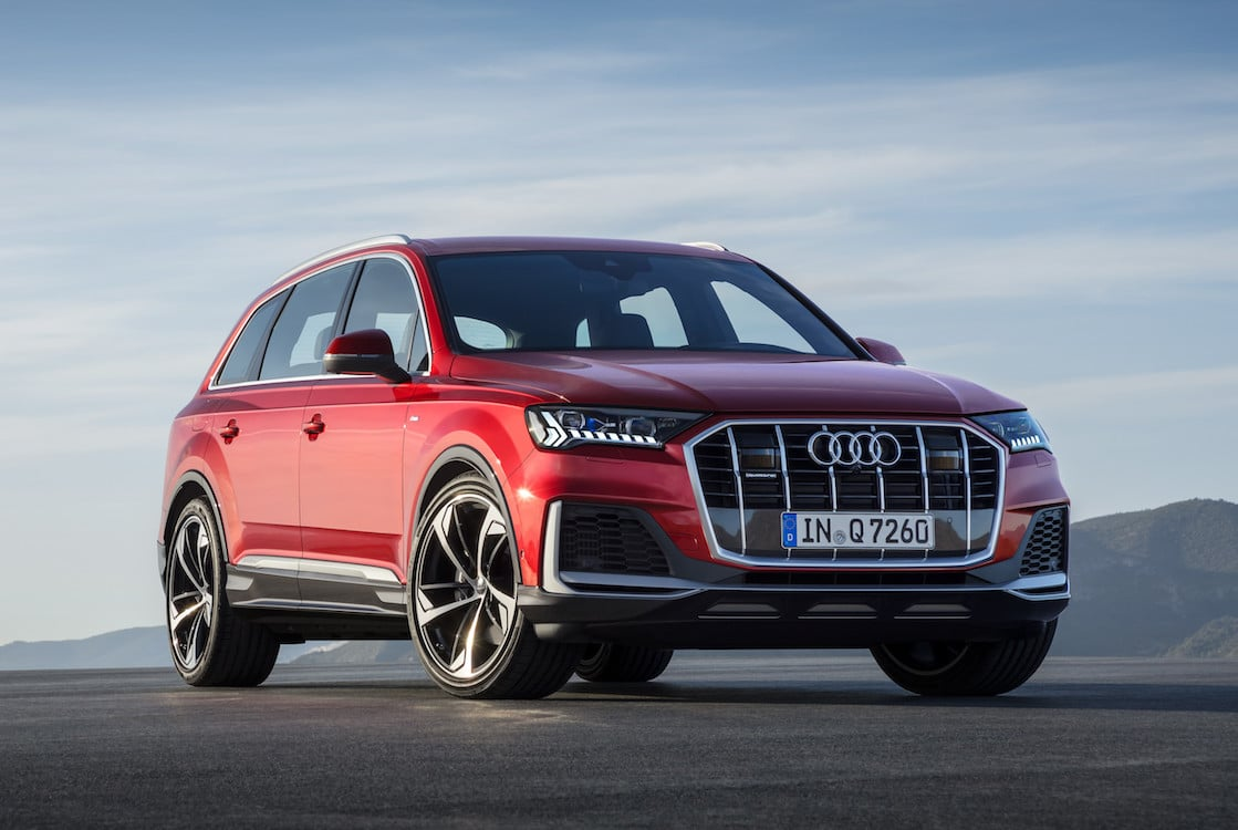 Audi Takes Q7 Suv To The Next Level For 2020 Model Year