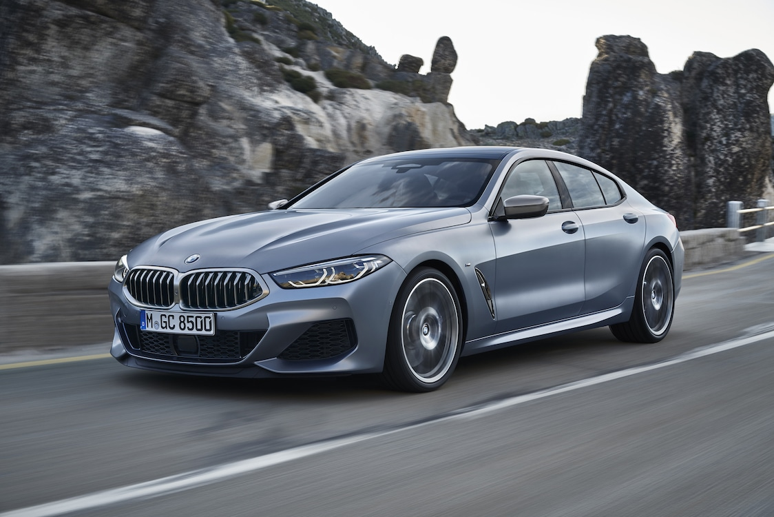 BMW Adds Gran Coupe Version of 8-Series