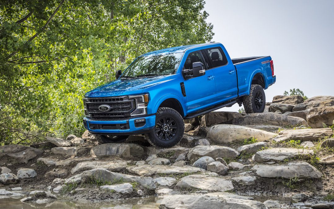 Feel the Earth Move? Ford Shakes Things Up with 2020 F-Series Super Duty Tremor