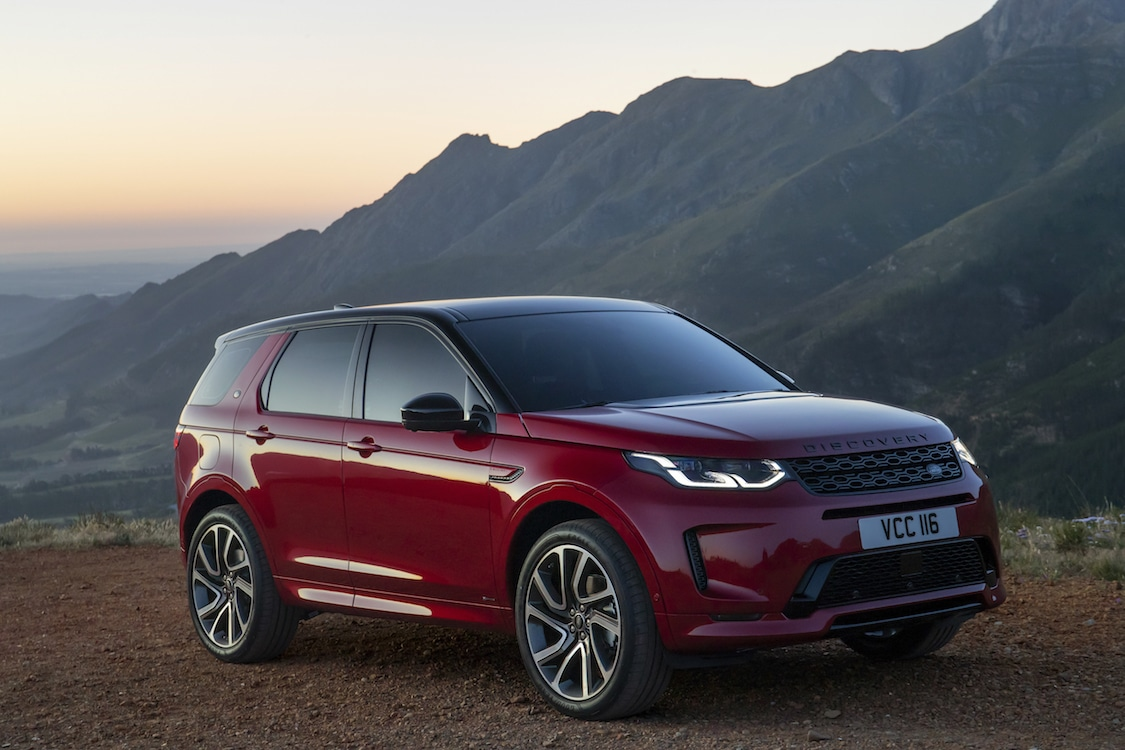 first drive 2020 land rover discovery sport. Black Bedroom Furniture Sets. Home Design Ideas