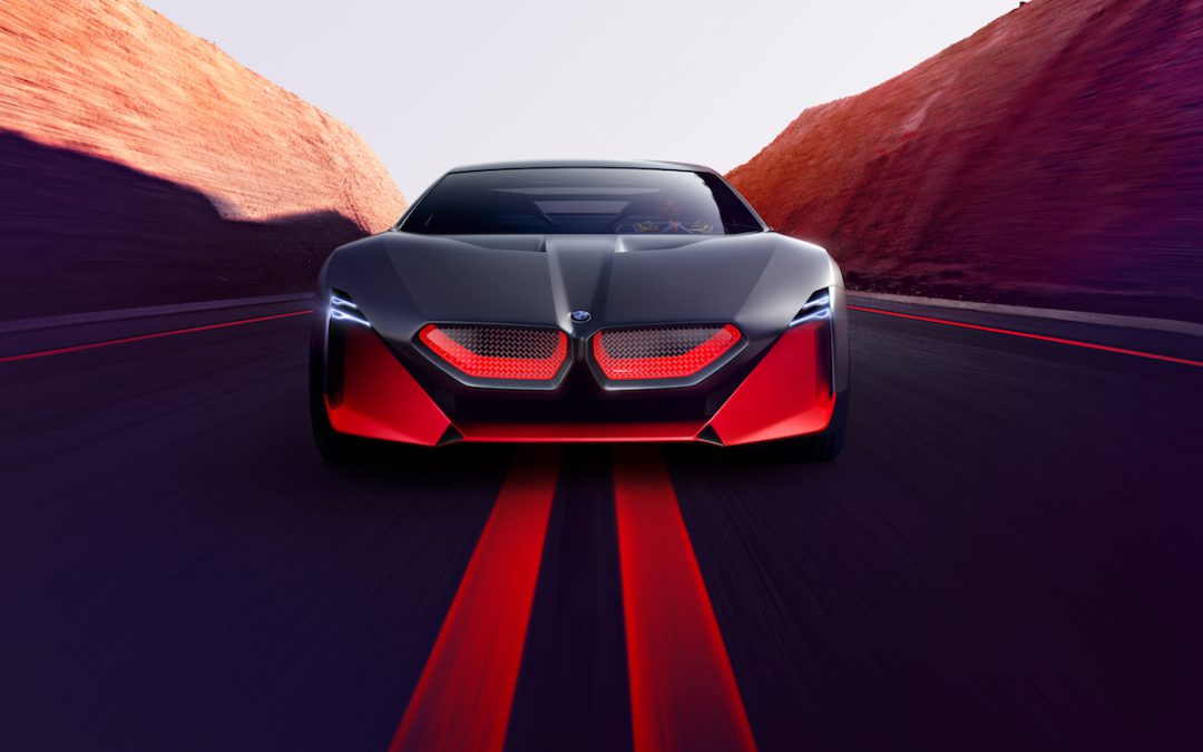 BMW's Vision M Next is a Plug-In that Runs Like a Sports Car