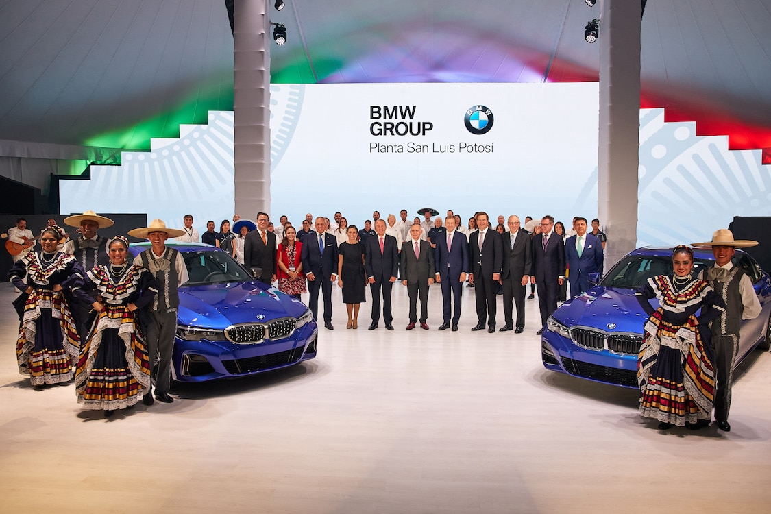 BMW Opens $1 Billion Plant in Mexico