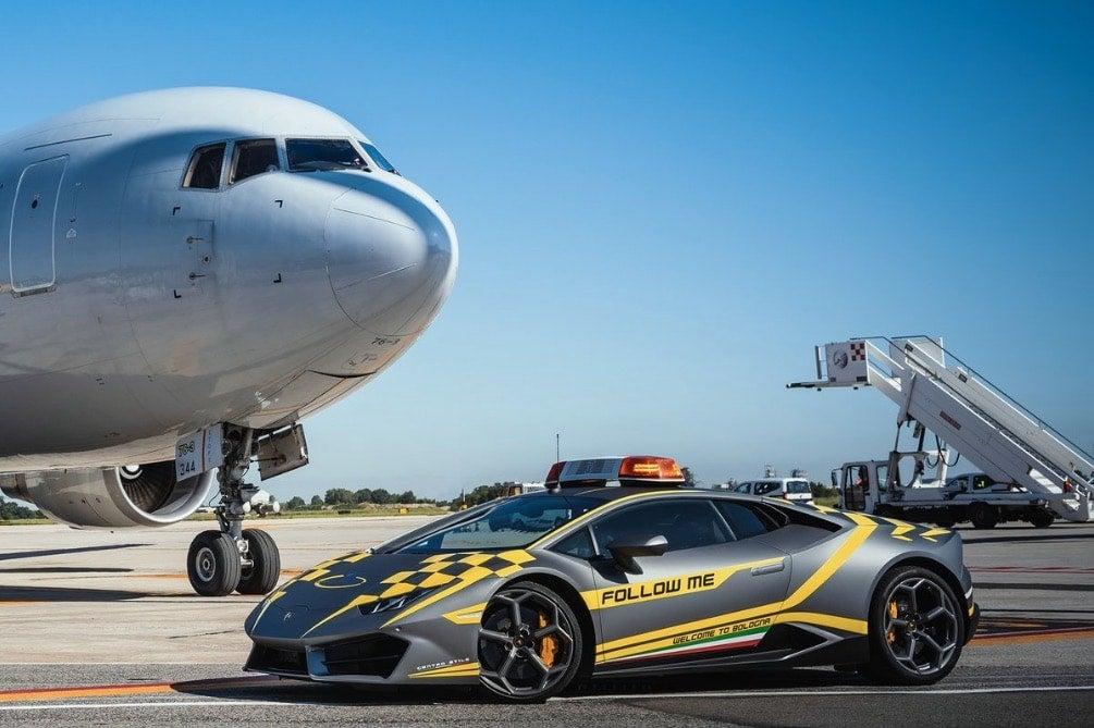 Italian Airport Gets Its Second Lamborghini Huracan