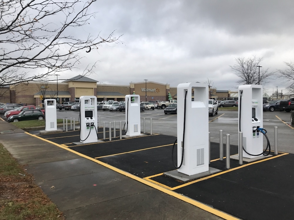 Electrify America Puts in 120 EV Chargers at Walmarts