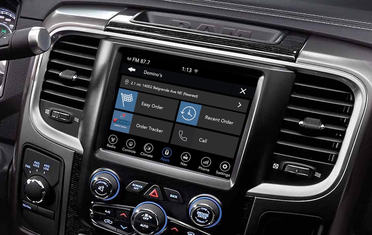 Fiat Chrysler Launching UConnect Market In-Car Payment