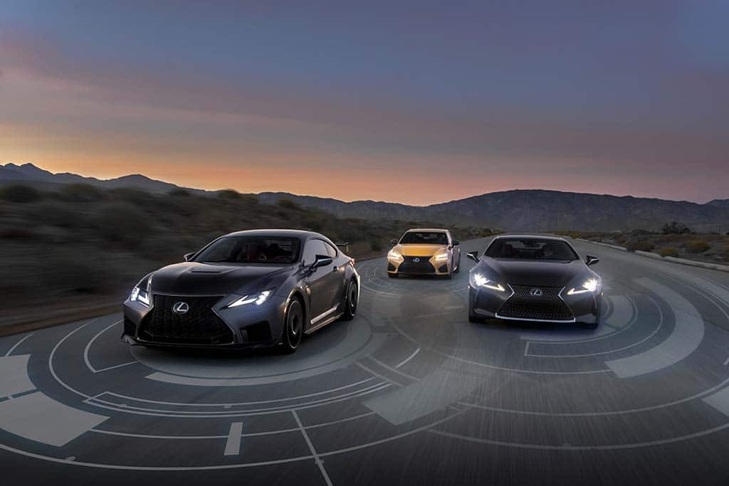 Lexus Adds Advanced Safety Suite Across the Line