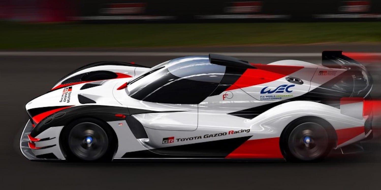 Toyota's Gazoo Racing Teases Planned Hypercar
