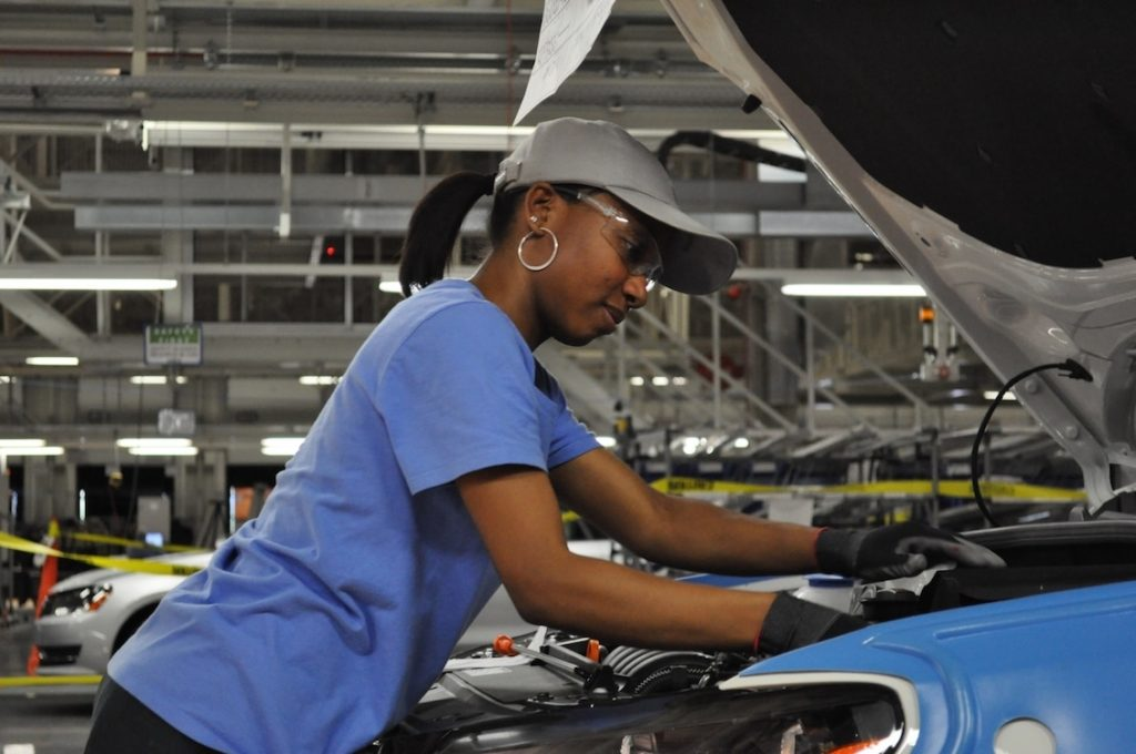 VW Chattanooga worker
