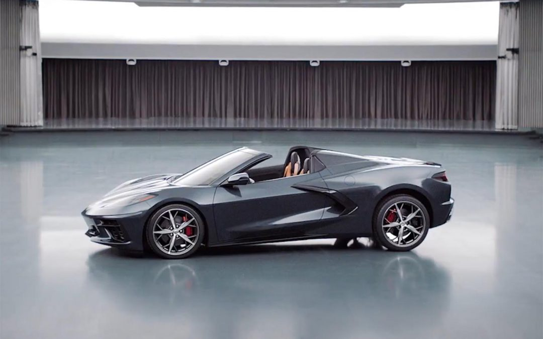 Chevy Offers Sneak Peek at Corvette Stingray Convertible, C8.R Racer
