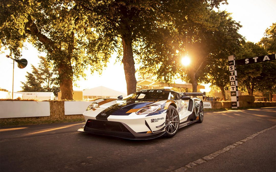 Mystery Ford GT Takes a Run Up Goodwood Hill
