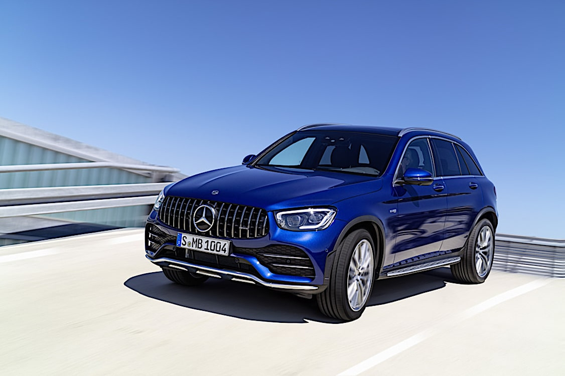Mercedes-AMG Updates GLC 43 SUV and Coupe for 2019