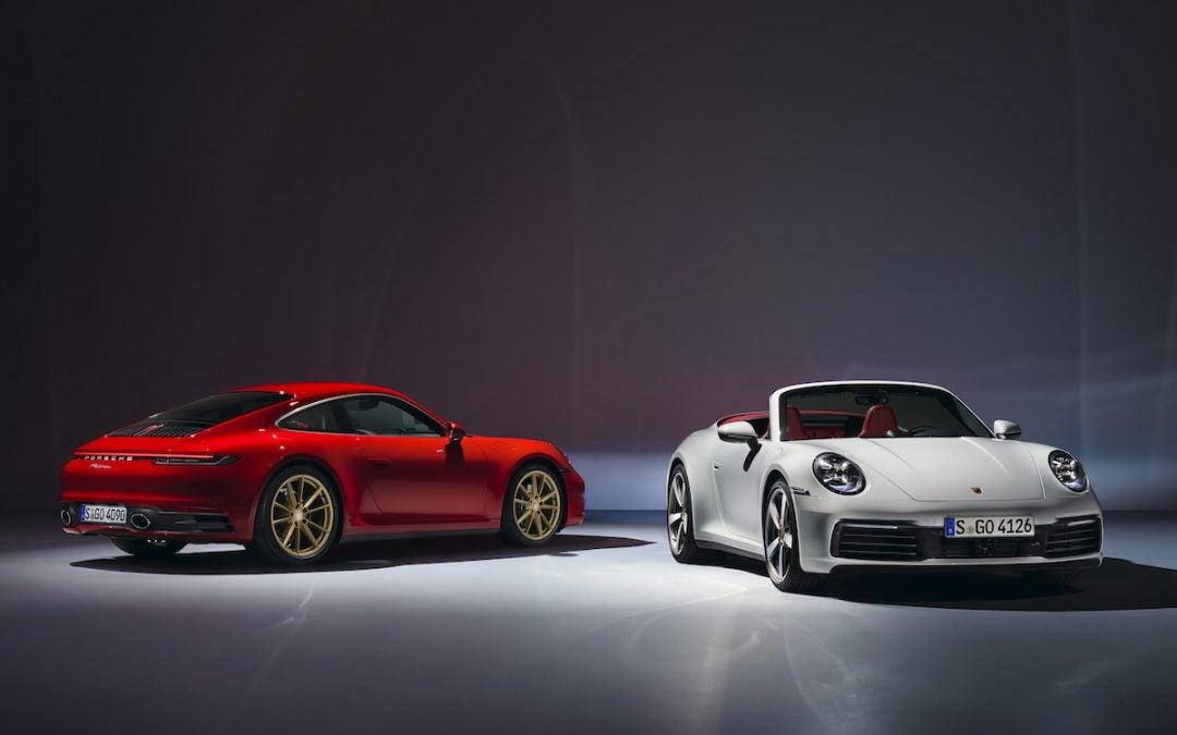 Porsche Reveals 2020 911 Carrera, 911 Carrera Cabriolet