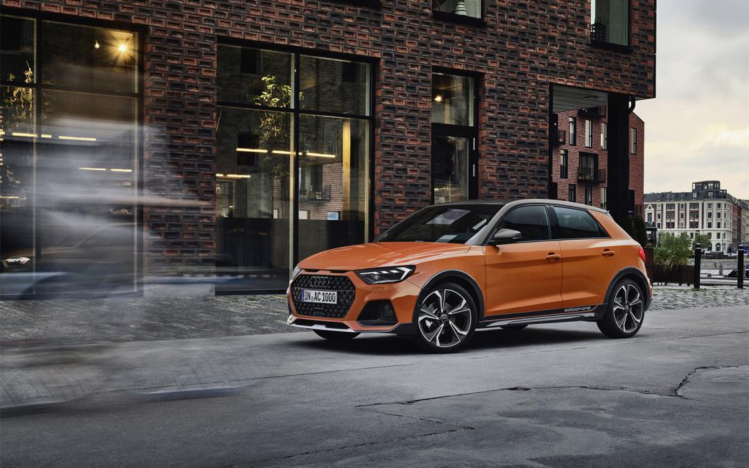 Audi Carves Out New Space with A1 CityCarver – a Crossover We likely Won't Get in the States