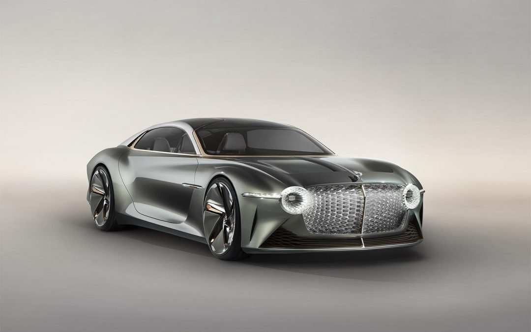 Bentley Offers Glimpse of its Future with EXP 100 Centenary Concept