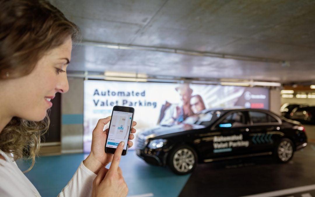 Daimler, Bosch Get New Autonomous Parking Approval