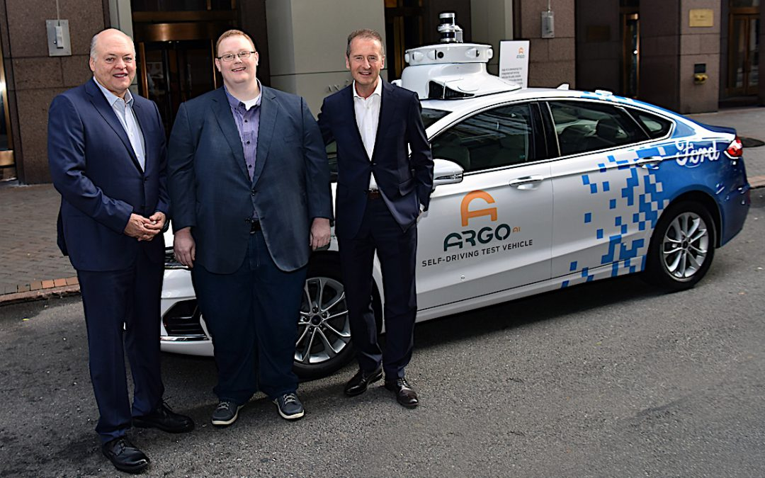 VW Signs $2.6B Deal with Argo AI, Joins Ford with Vehicle Development