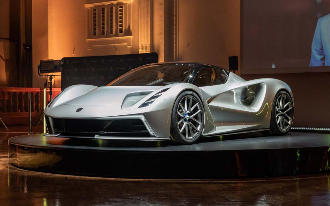 Who Cares About 0-60? Lotus Evija Will Hit 186 in 9 Seconds