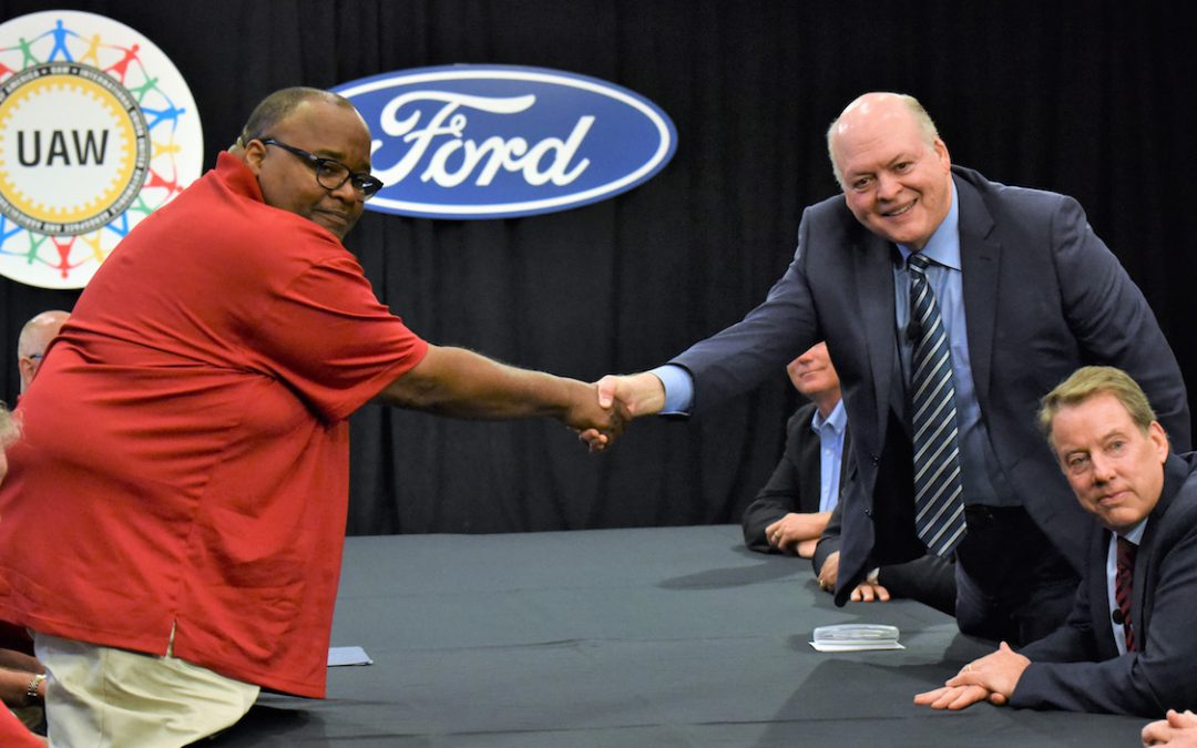 Ford, UAW Revise Tentative Deal Giving Some Workers More Money
