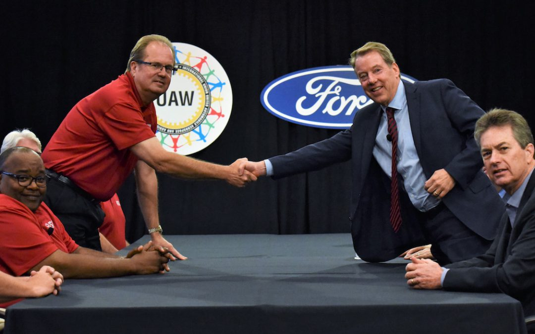 UAW Kicks Off Negotiations with Ford Talking Tough