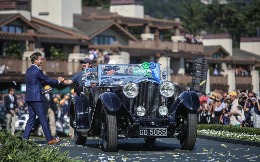 Bentleys Dominate the 2019 Pebble Beach Concours
