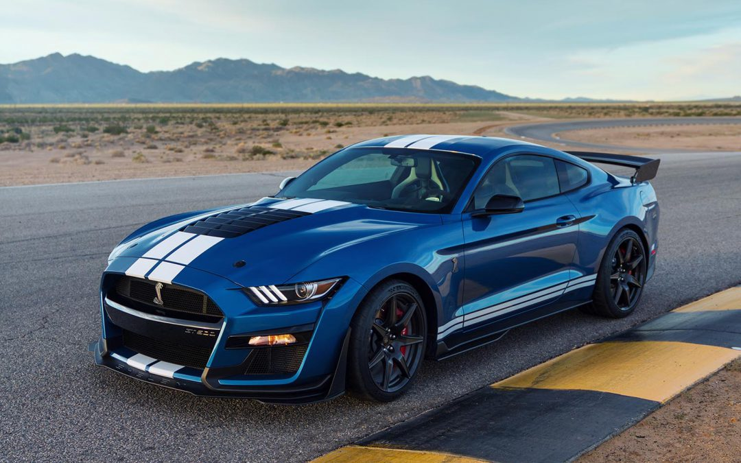 Ford's New Shelby GT500 Tops GT by 113 Ponies