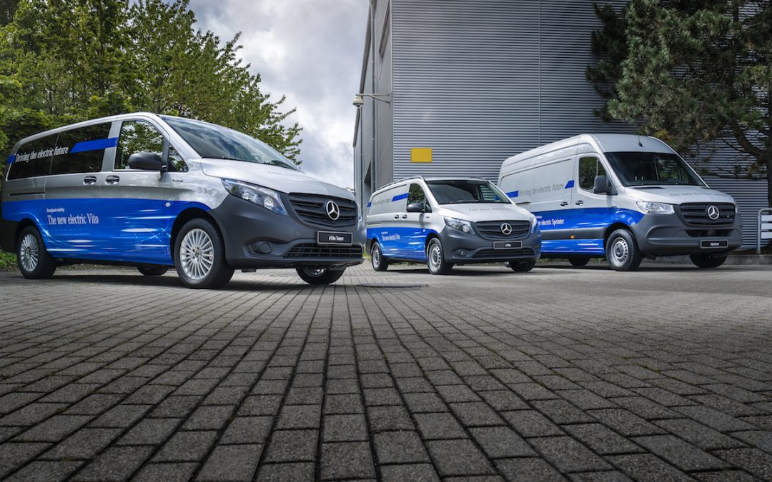 Mercedes-Benz Launching Electric Delivery Van Early Next Year