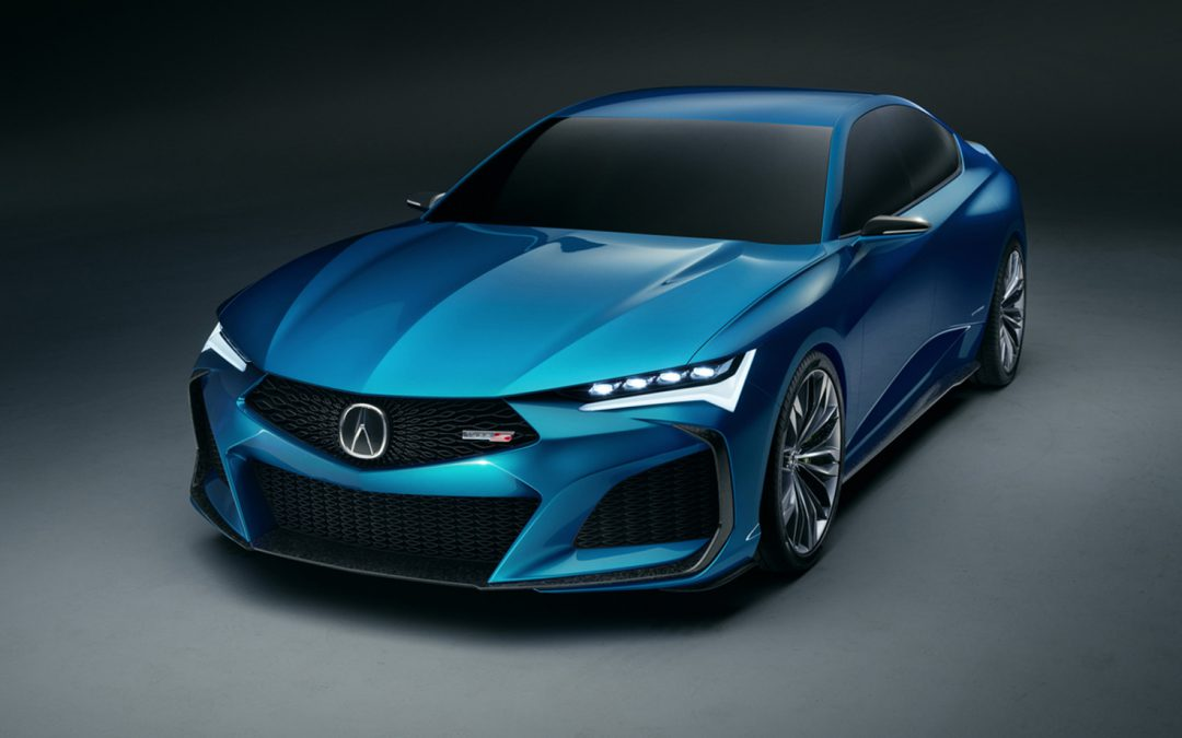 Acura Type S Concept Officially Breaks Cover