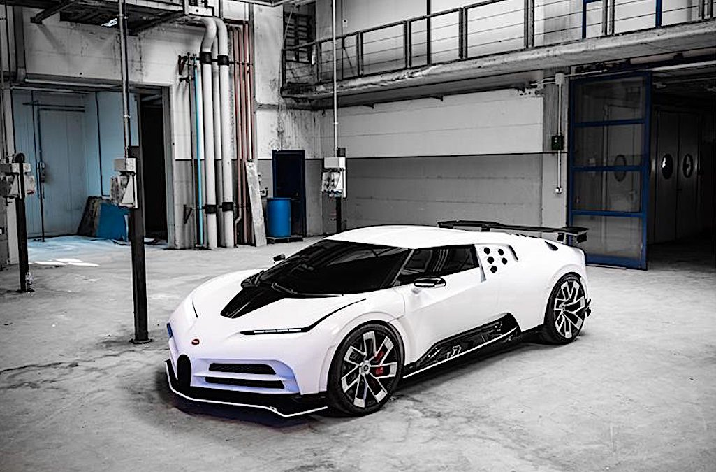 Report: VW Set to Sell Bugatti to Croatia's Little EV Maker Rimac