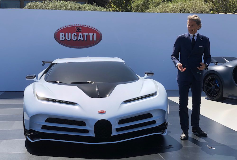 Bugatti's New Centodieci Celebrates 110 Years in Style