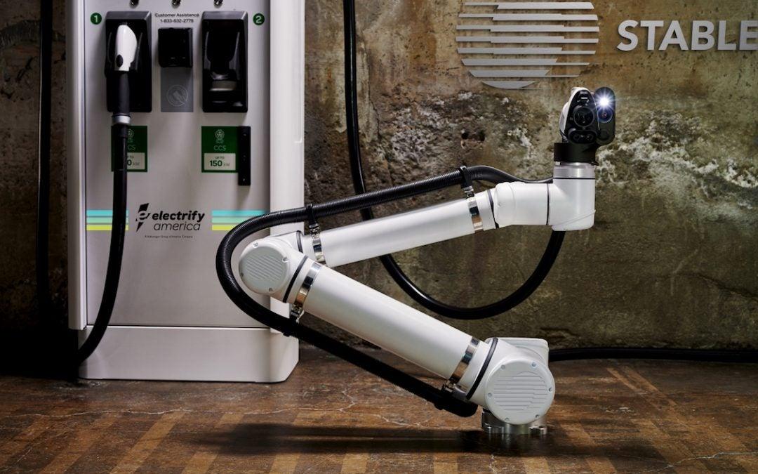 Electrify America Piloting Robotic Charging of Autonomous Electric Vehicles