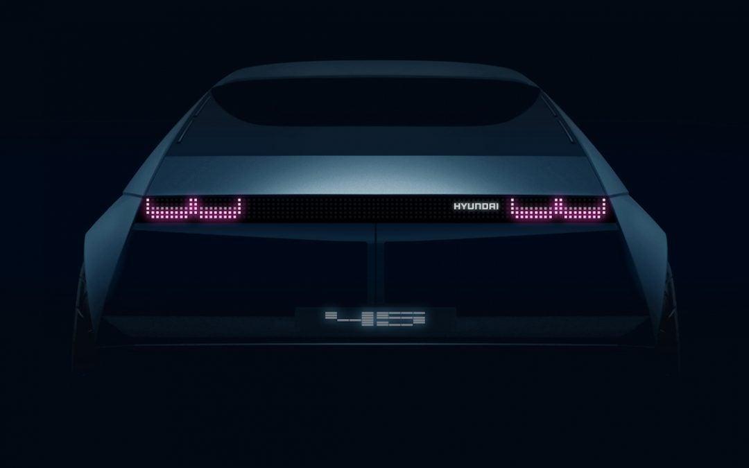 Hyundai Revealing EV Concept 45 During Frankfurt