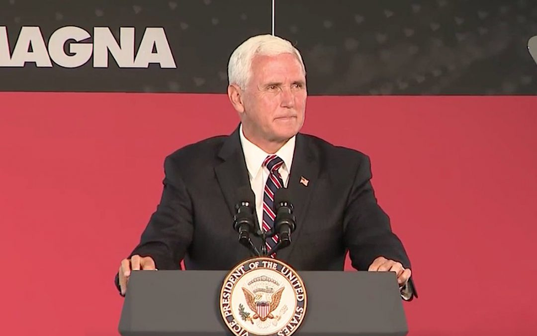 VP Pence Touts GM Deal for Lordstown Plant; UAW Says Not So Fast