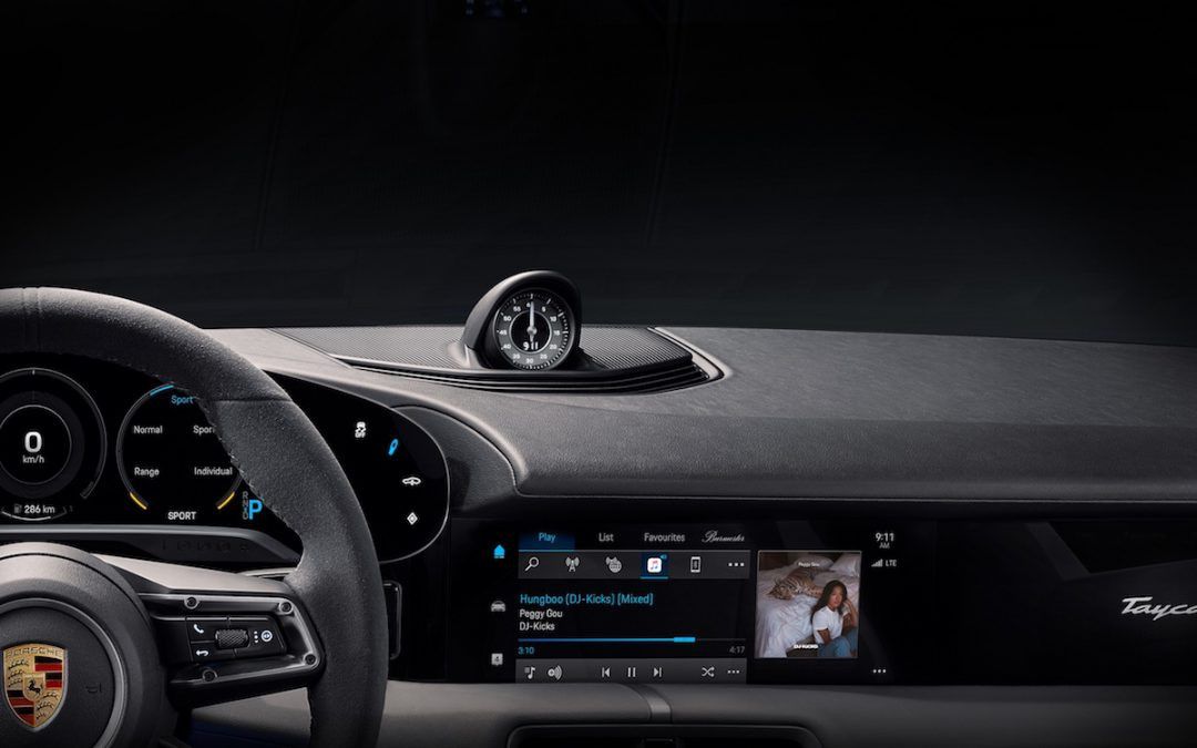 Porsche's New Taycan Will Stream Apple Music