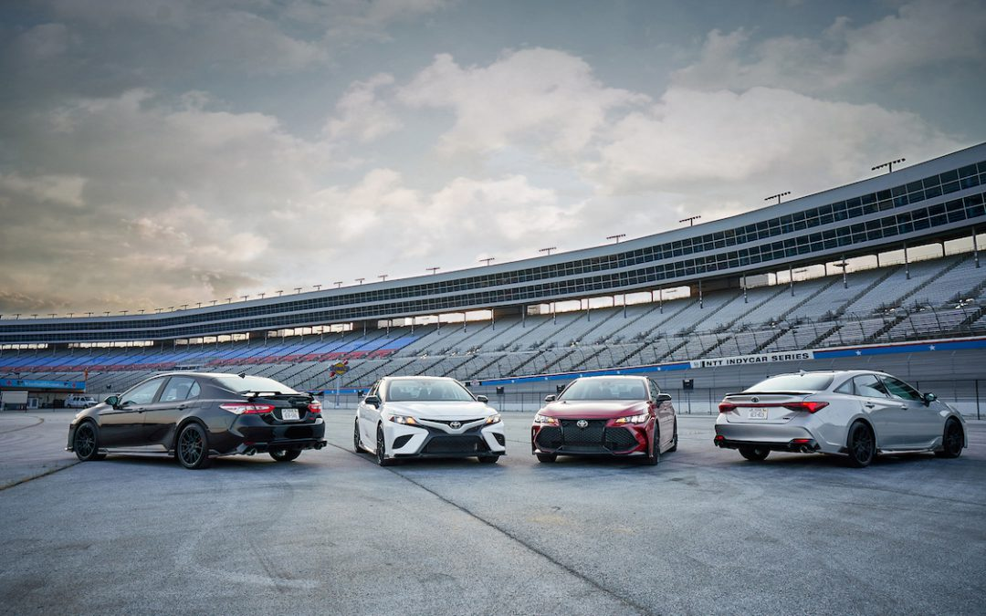 Toyota Sprinkles TRD Magic on Camry and Avalon for 2020